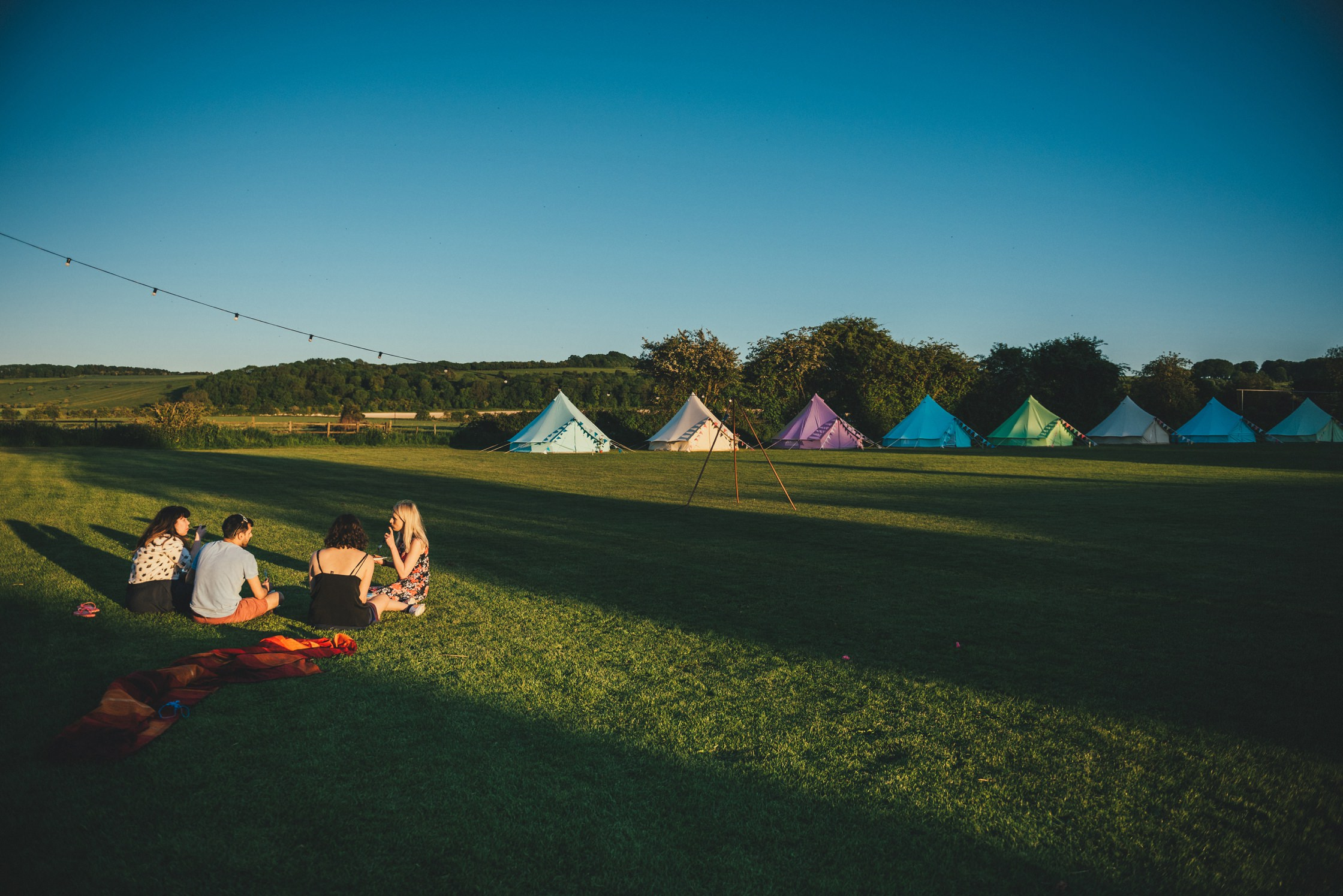 Tipi Wedding Photography Wiltshire Shalbourne Sports Club_0008