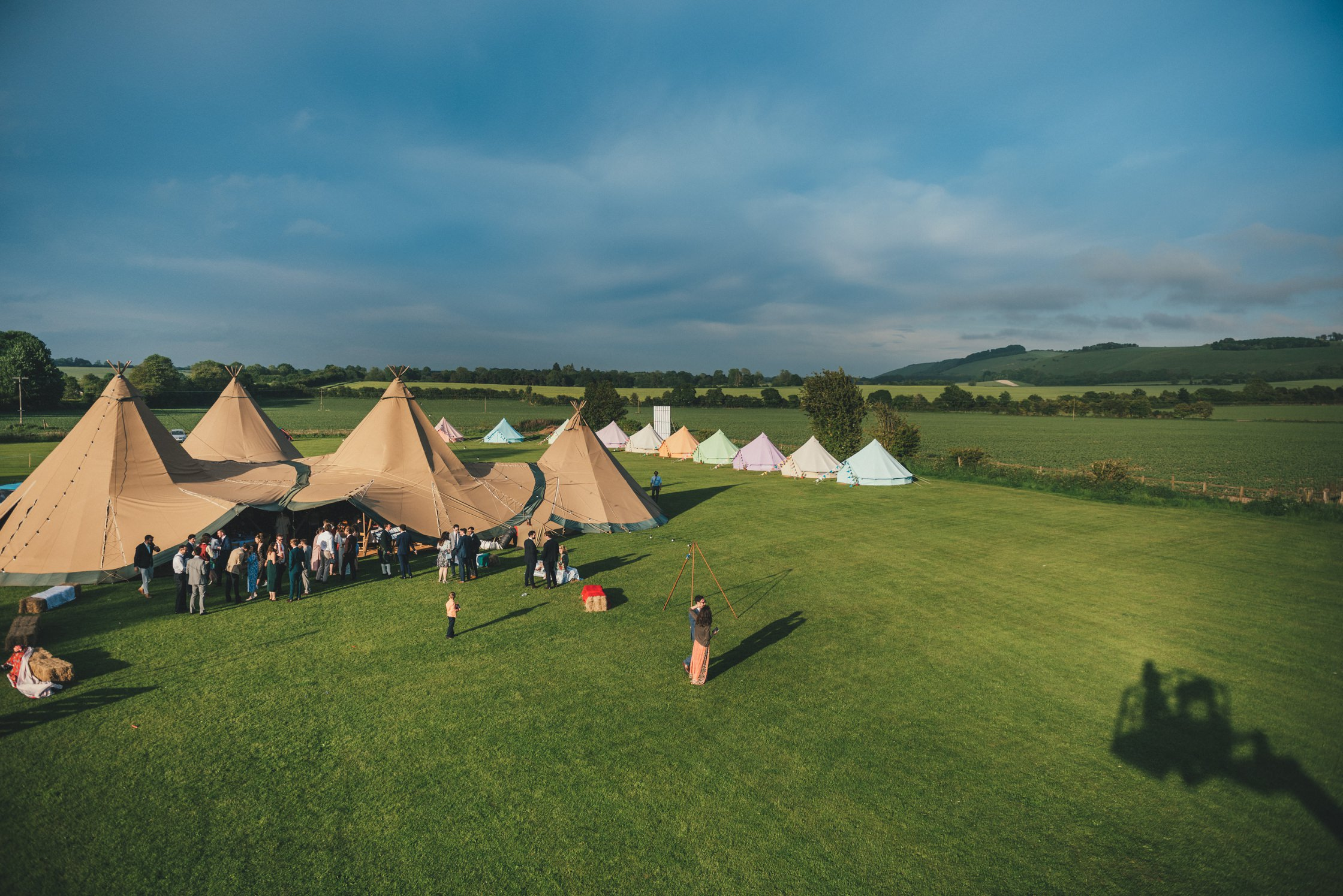 Tipi Wedding Photography Wiltshire Shalbourne Sports Club_0065