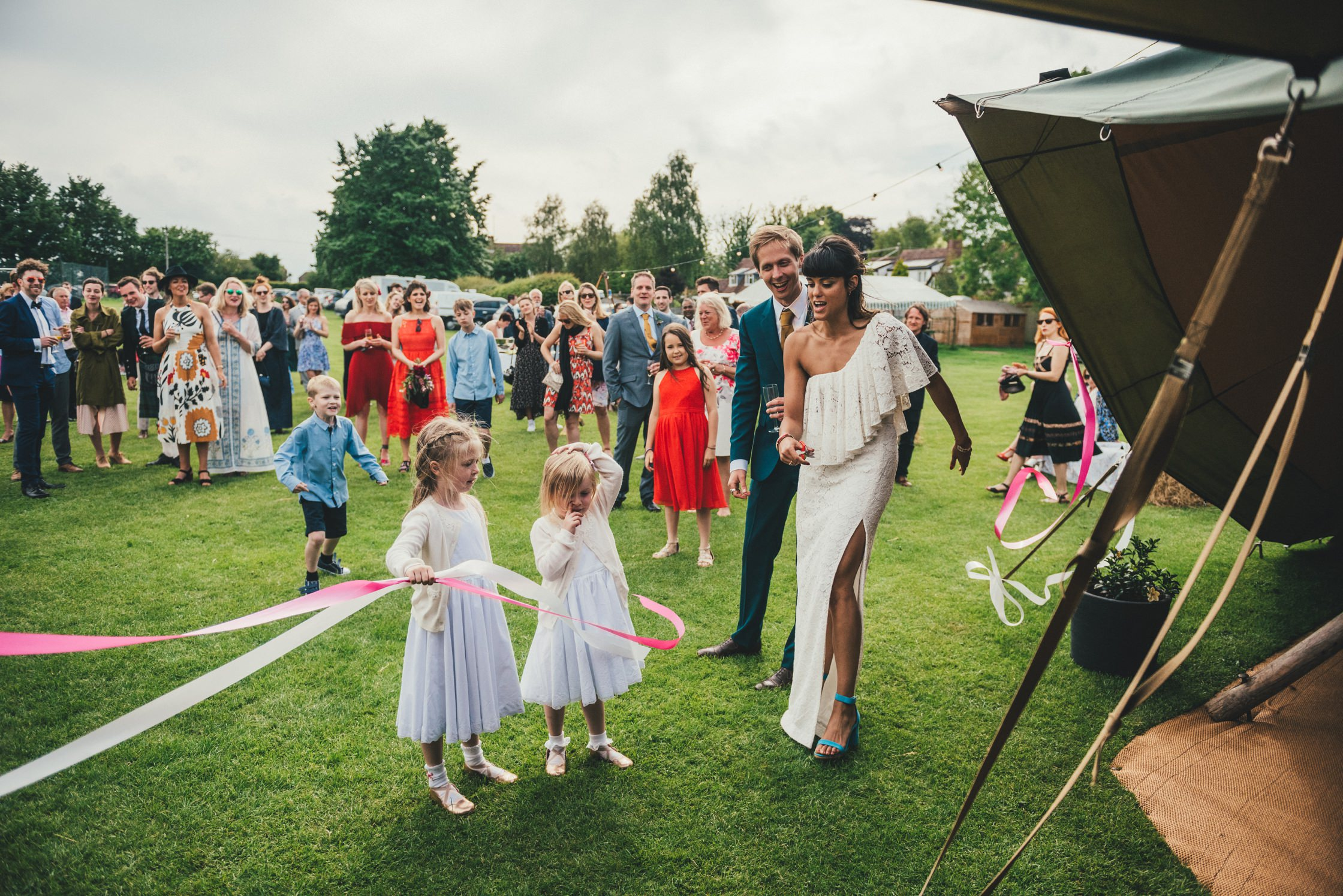 Tipi Wedding Photography Wiltshire Shalbourne Sports Club_0060
