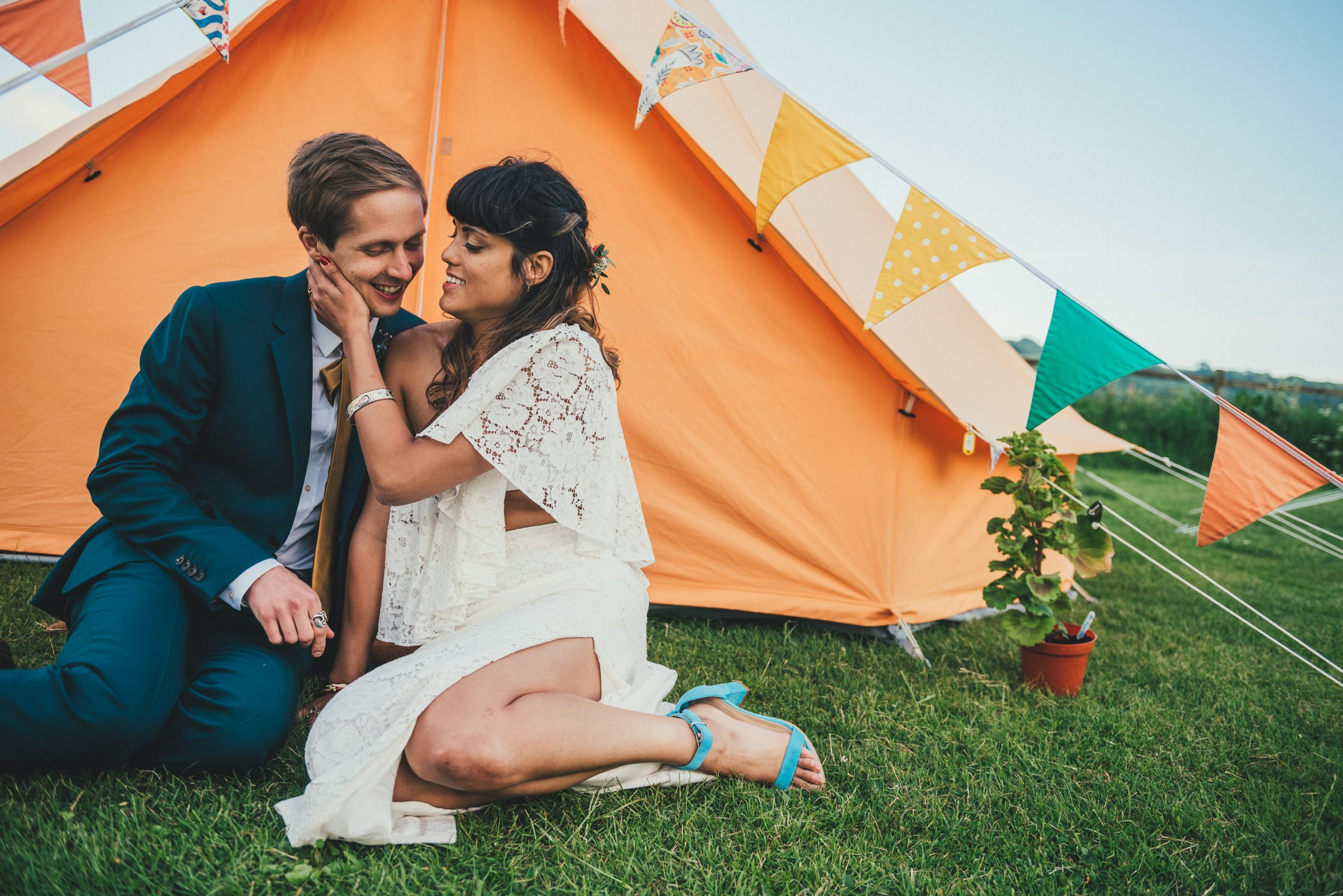 Tipi Wedding Photography Wiltshire Shalbourne Sports Club_0067