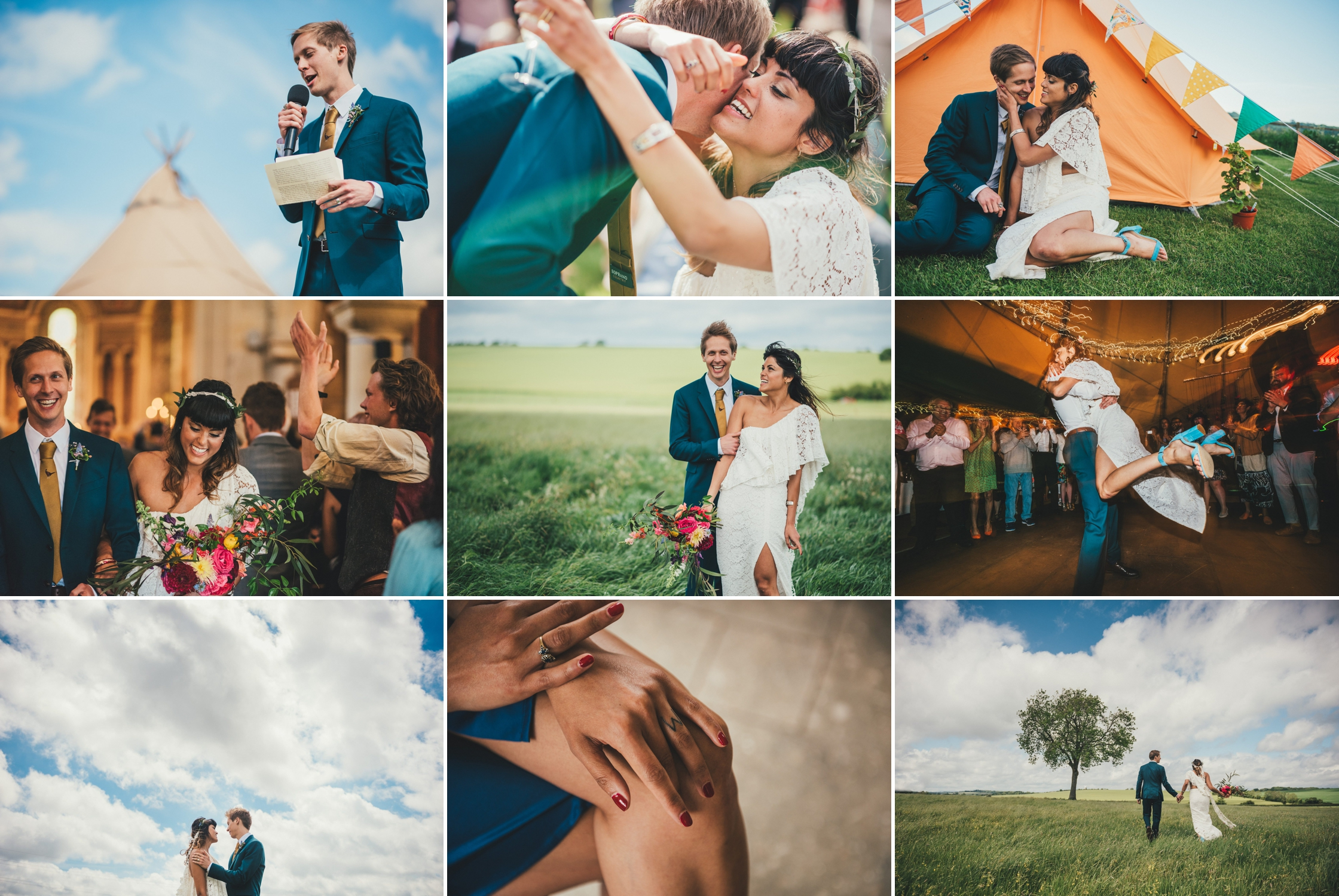 Tipi Wedding Photography Wiltshire Shalbourne Sports Club_0083