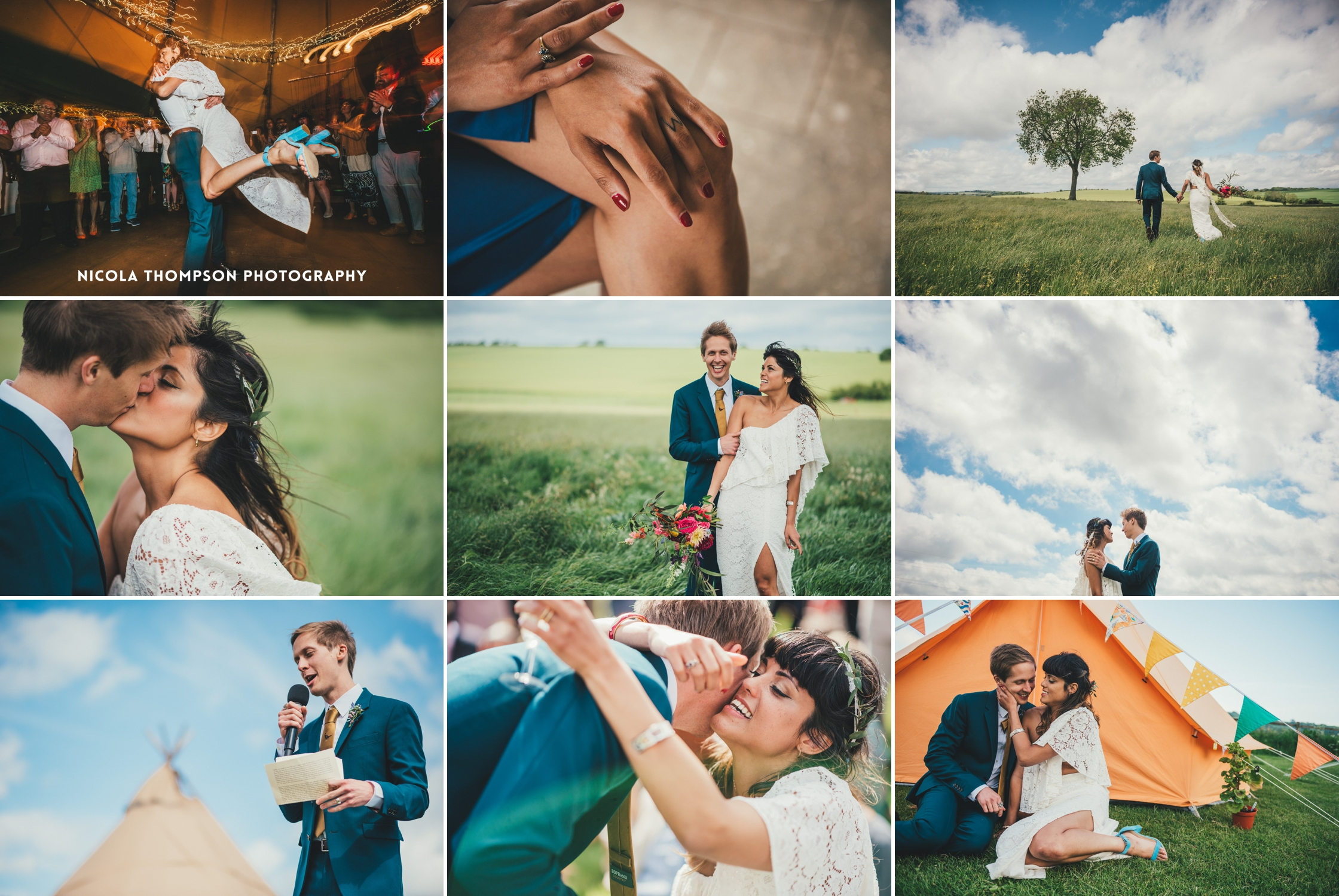 Tipi Wedding Photography Wiltshire Shalbourne Sports Club_0086