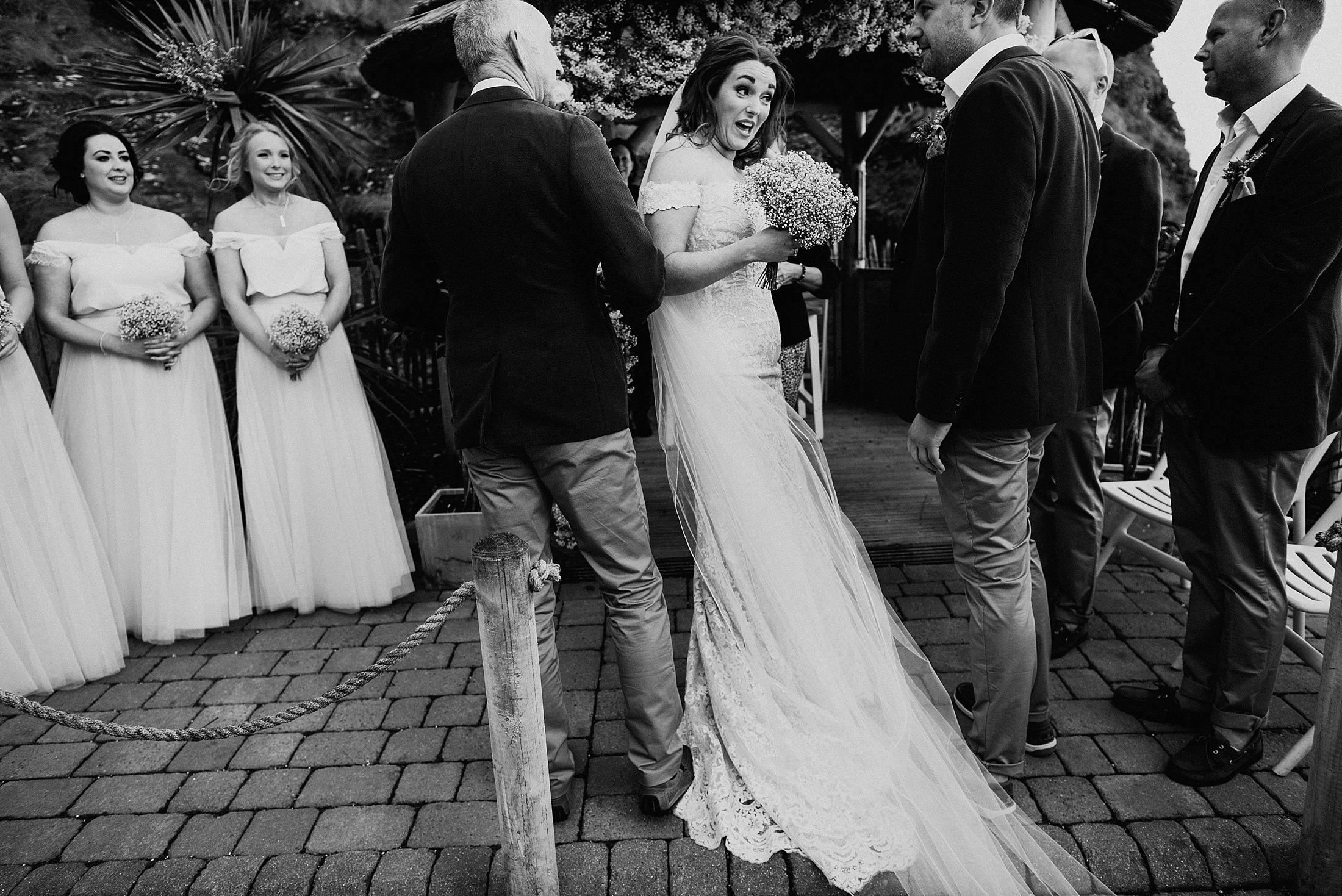 Tunnels Beaches Wedding Photography: Wedding Photographer Tunnels Beaches > Becky & Adam